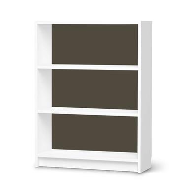 Möbelfolie IKEA Billy Regal 3 Fächer - Braungrau Dark