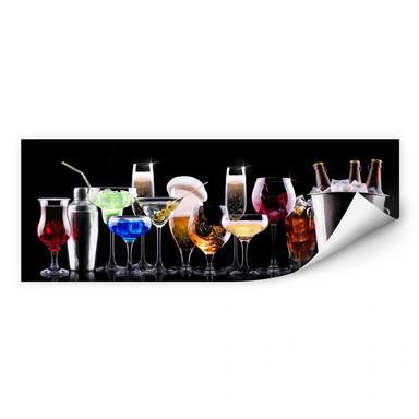 Wallprint Cocktail Feeling - Panorama