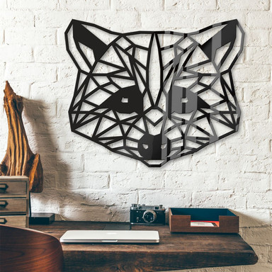 Acryldeko Origami Waschbär