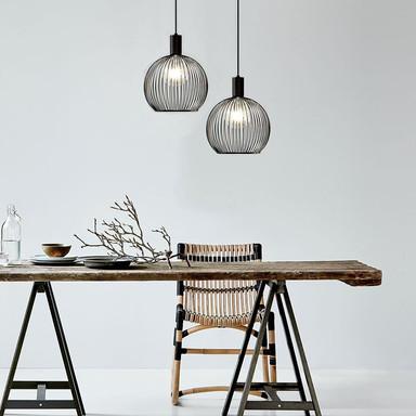 Designer Pendelleuchte Aver, Ø 300 mm, E27. by Carlo Volf