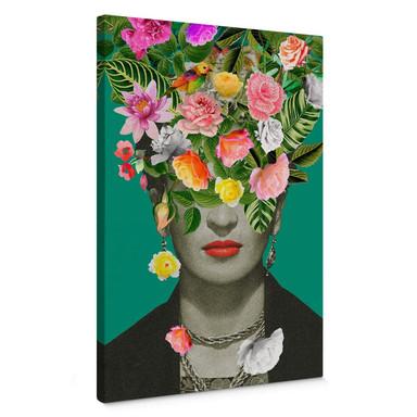 Leinwandbild Feldmann - Frida Floral