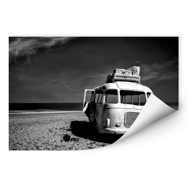 Wallprint Depaepe - Beached Bus