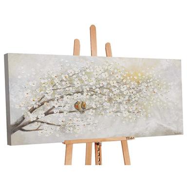 Acryl Gemälde handgemalt Sonnenaufgang 120x60cm - Bild 1