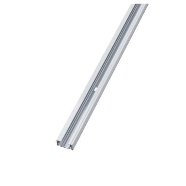 famlights | 1-Phasen Schiene aus Metall in Weiss 1 Meter