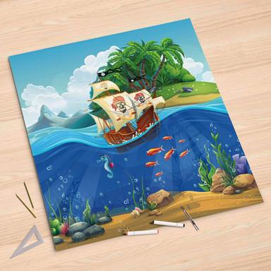 Folienbogen (90x90cm) - Pirates