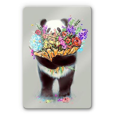 Glasbild Nicebleed - Flowers for you