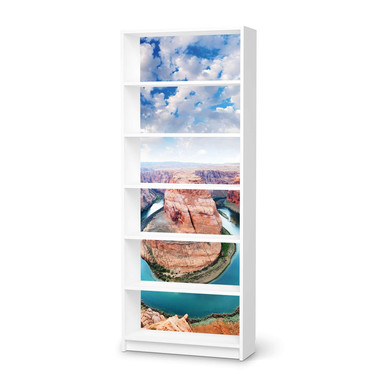 Klebefolie IKEA Billy Regal 6 Fächer - Grand Canyon- Bild 1