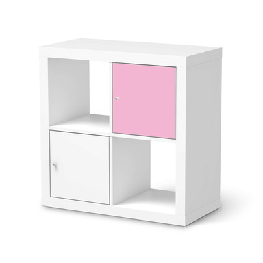Klebefolie IKEA Expedit Regal Tür einzeln - Pink Light- Bild 1