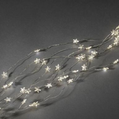 LED Lichterkette in Silber 240x 0.01W warmweiss 2m