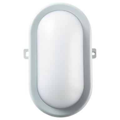 LED Wand- und Deckenleuchte Bodrum in Grau IP54 4000K 700lm
