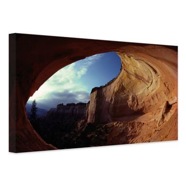 Leinwandbild NG Höhle