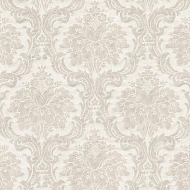 Livingwalls Vliestapete Paradise Garden Tapete mit Ornamenten barock grau, beige