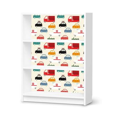 Möbelfolie IKEA Billy Regal 3 Fächer - Cars