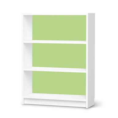 Möbelfolie IKEA Billy Regal 3 Fächer - Hellgrün Light