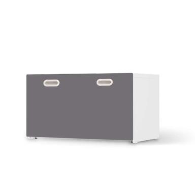 Möbelfolie IKEA Stuva / Fritids Bank mit Kasten - Grau Light