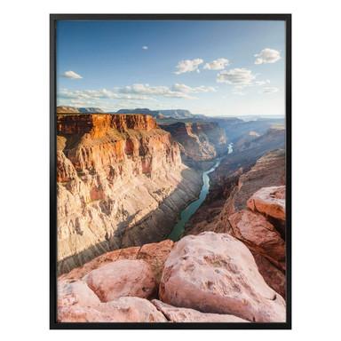 Poster Colombo - Colorado River im Grand Canyon