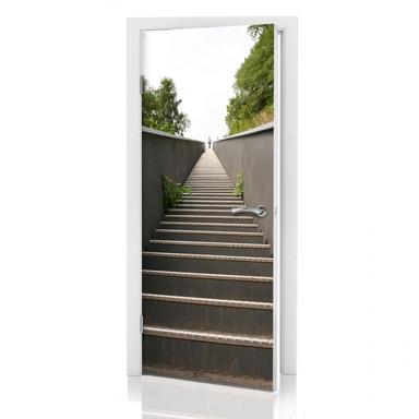 Türdeko Treppe zum Himmel - Bild 1