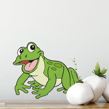 Wandsticker Benjamin Blümchen Frosch Quaki