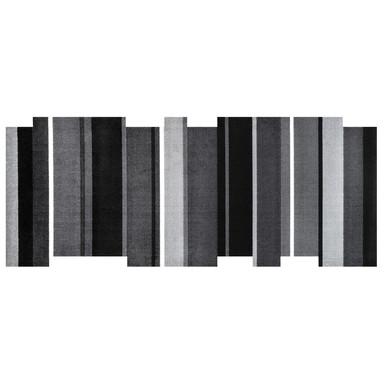 Wash&Dry Decor Fussmatte Dancing Steps black