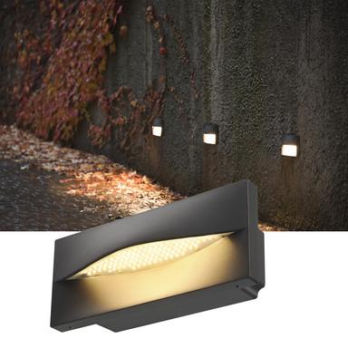 ADI, Outdoor Wandeinbauleuchte, LED, 3000K, anthrazit, 15.4W