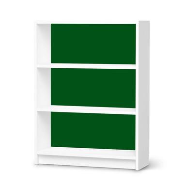 Möbelfolie IKEA Billy Regal 3 Fächer - Grün Dark