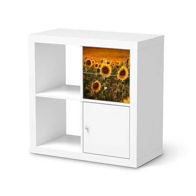 Möbelfolie IKEA IKEA Expedit Regal Schubladen - Sunflowers