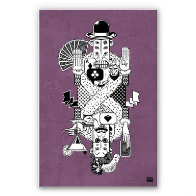 Wandbild Drawstore - Playing Cards