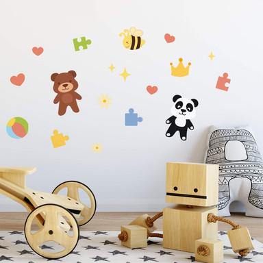 Wandtattoo Spielzeug