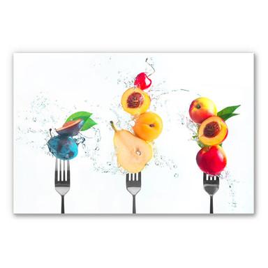 Hartschaumbild Belenko - Splashing Fruits