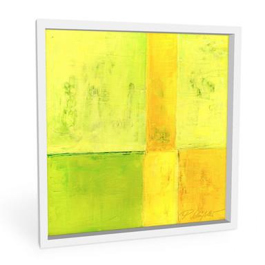 Hartschaumbild Schüssler - Spring Composition I