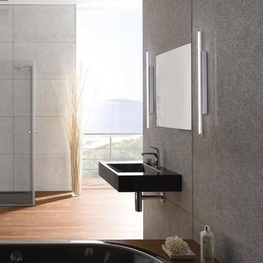 LED Wand- und Spiegelleuchte Timon in Chrom 600 mm