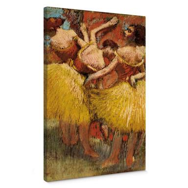 Leinwandbild Degas - Drei Tänzerinnen