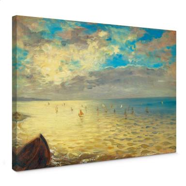 Leinwandbild Delacroix - Das Meer
