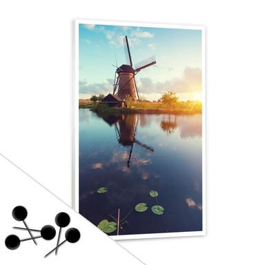 Pinnwand Holländische Windmühle inkl. 5 Pinnadeln