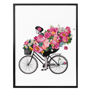 Poster Graves - Flora Bicycle
