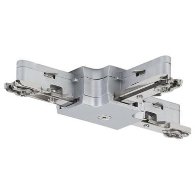 URail System Light&Easy T-Verbinder Chrom-matt - Bild 1