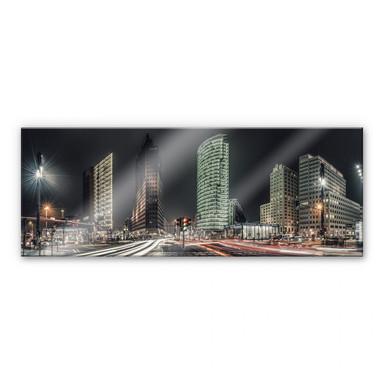 Acrylglasbild Potsdamer Platz - Panorama