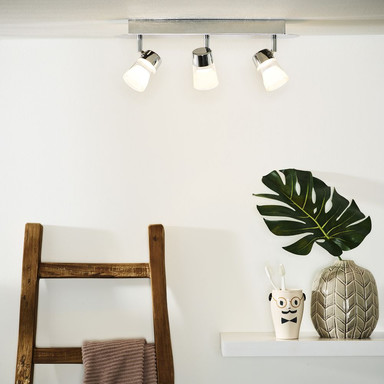 Dreiflammiger Leuchtenspot Xanto, inkl. LED, dreh- und schwenkbar
