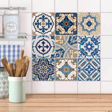 Fliesenaufkleber Set - Lisboa Azulejos