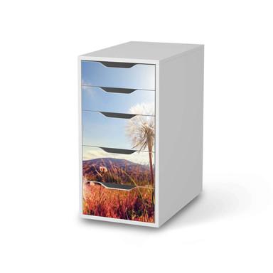 Klebefolie IKEA Alex 5 Schubladen - Dandelion