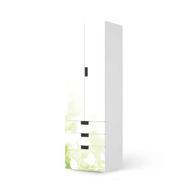 Klebefolie IKEA Stuva / Malad - 3 Schubladen und 2 grosse Türen - Flower Light- Bild 1