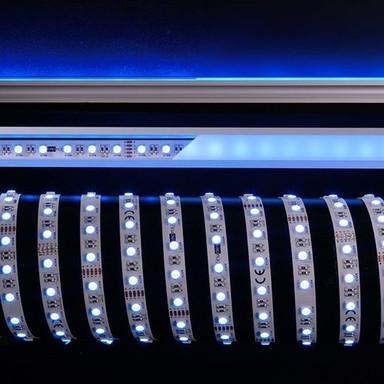 LED Stripe 5050-60-24V-Rgb&6200K-5M in Weiss 3000lm