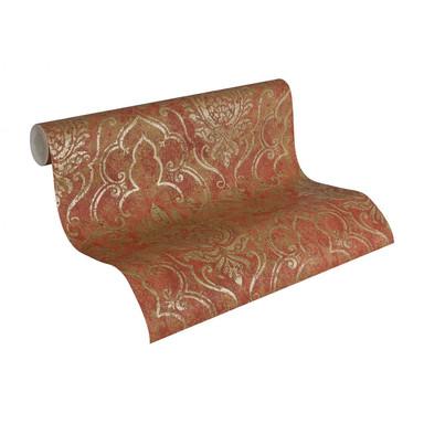 Mustertapeten A.S. Création Tapete Bohemian Braun, Metallic, Rot