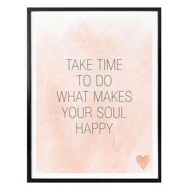 Poster Confetti & Cream - Take Time