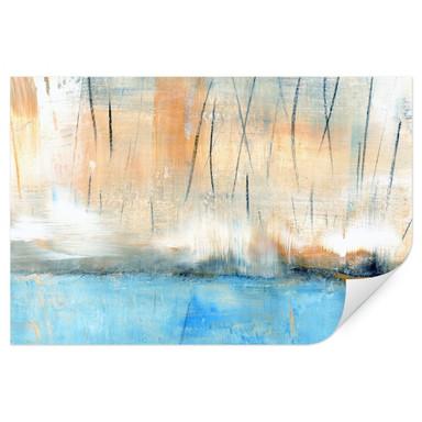 Wallprint Niksic - Wasserblau