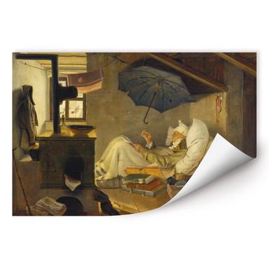 Wallprint Spitzweg - Der arme Poet