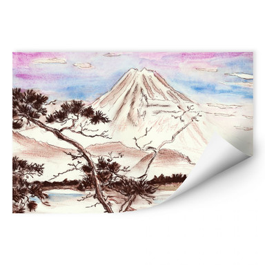 Wallprint Toetzke - Asian Landscape
