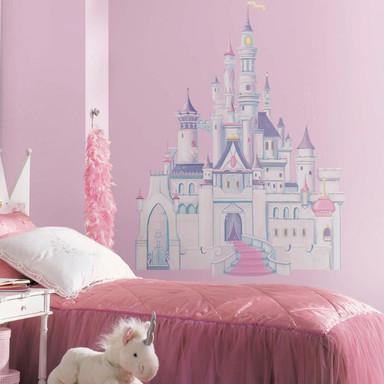 Wandsticker Disney Princess - Maxi Sticker Schloss mit Glitzer - Bild 1