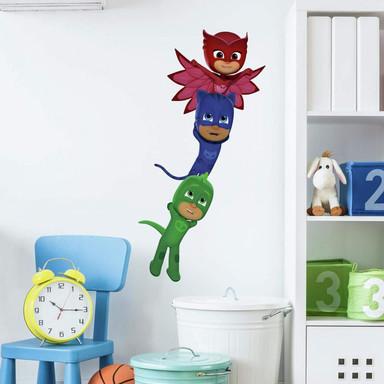 Wandsticker PJ Masks Superhelden - Maxi Sticker - Bild 1