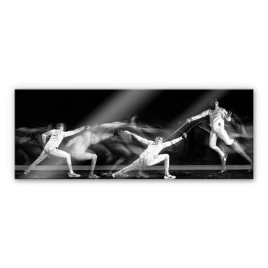 Acrylglasbild Ghesquiere - Fechten